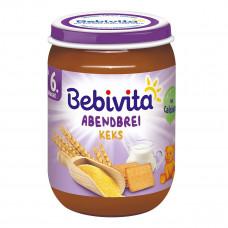 Пюре Bebivita Молочная каша с печеньем 190 г 1084 ТМ: Bebivita