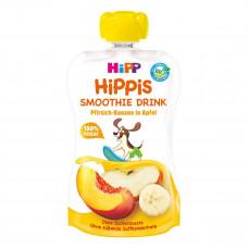 Смузи органическое HiPP Персик Яблоко Банан 120 г 8602-01 ТМ: HiPP