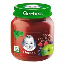 Фруктовое пюре Gerber Яблоко Лесные ягоды 130 г 12167651 ТМ: Gerber