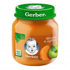 Фруктово-овощное пюре Gerber Яблоко Тыква 130 г 12101699 ТМ: Gerber