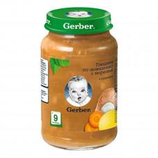 Пюре Gerber Говядина по-домашнему с морковью 190 г 12366346 ТМ: Gerber