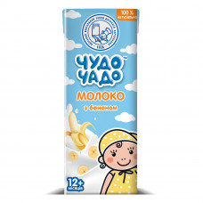 Молочный коктейль Чудо-Чадо с бананом 200 г 3763 ТМ: Чудо-Чадо
