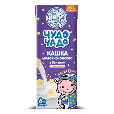 Каша Чудо-Чадо Молочно-рисовая с бананом 200 г 3761 ТМ: Чудо-Чадо
