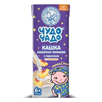 Каша Чудо-Чадо Молочно-злаковая с персиком 200 г 3762 ТМ: Чудо-Чадо