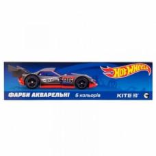 Акварельные краски Kite Hot Wheels, 6 цветов (HW19-040)
