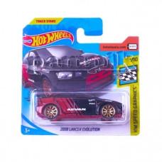 Машинка Hot Wheels 2008 Lancer Evolution, красный (5785)