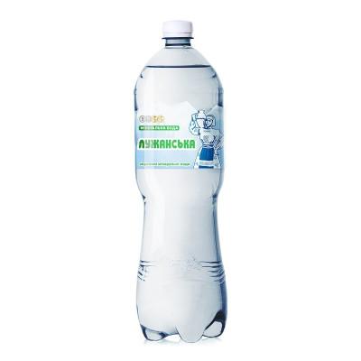 Вода минеральная Алекс Лужанская 1.5 л  ТМ: Лужанская