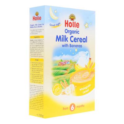 Каша молочная Holle Злаковая с бананом 250 г 23189 ТМ: Holle