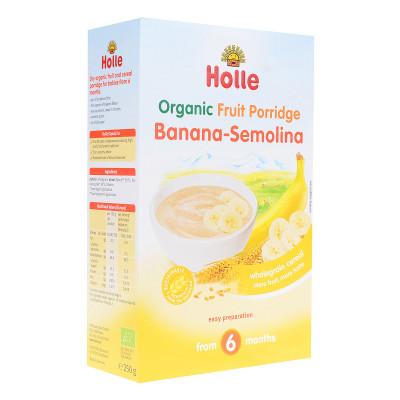 Каша безмолочная Holle Манная с бананом 250 г 23250 ТМ: Holle
