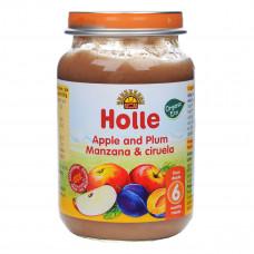 Пюре органическое Holle Яблоко Слива 190 г 32837 ТМ: Holle
