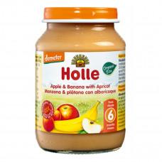Пюре органическое Holle Яблоко Банан Абрикос 190 г  32828 ТМ: Holle