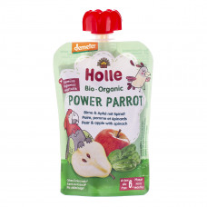Пюре органическое Holle Power Parrot Груша Яблоко Шпинат 100 г 45322 ТМ: Holle