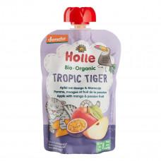 Пюре органическое Holle Tropic Tiger Яблоко Манго Маракуйя 100 г 45297 ТМ: Holle