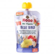 Пюре органическое Holle Blue Bird Груша Яблоко Черника Овес 100 г 45319 ТМ: Holle