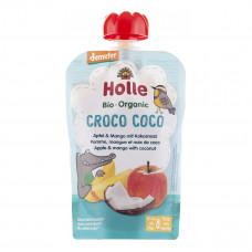 Пюре органическое Holle Croco Coco Яблоко Манго Кокос 100 г 45291 ТМ: Holle