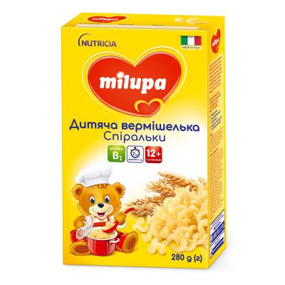 Детская вермишель Milupa Спиральки 168130 ТМ: Milupa