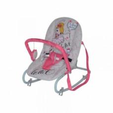 Кресло-шезлонг Lorelli Top Relax Балерина, розовый (20993)