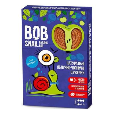 Конфеты Bob Snail натуральные яблочно-черничные 60 г  ТМ: Bob Snail