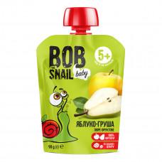 Пюре Улитка Боб Яблоко-груша 90 г  ТМ: Bob Snail