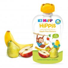 Пюре органическое фруктовое HiPP Яблоко Груша Банан 100г 2417938 ТМ: HiPP