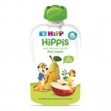 Пюре органическое фруктовое HiPP Груша Яблоко 100г 8572 ТМ: HiPP