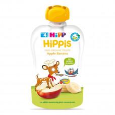 Пюре органическое фруктовое HiPP Яблоко Банан 100г 8573 ТМ: HiPP