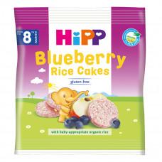 Органические рисовые хлебцы HIPP с черникой и яблоком 3569-01 ТМ: HiPP