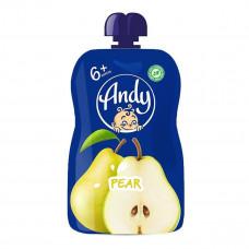 Пюре фруктовое Andy Груша 90 г  ТМ: Andy