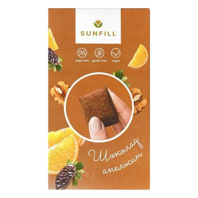 Конфеты Sunfill Шоколадные с апельсином 150 г  ТМ: Sunfill