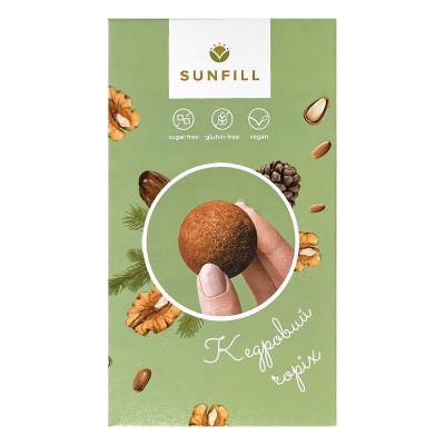 Конфеты Sunfill с кедровым орехом 150 г  ТМ: Sunfill