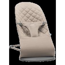 Кресло-шезлонг BabyBjorn Balance Sand Cotton, серый (006017)
