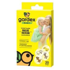 Пластыри после укусов насекомых Gardex Baby, 20 шт.