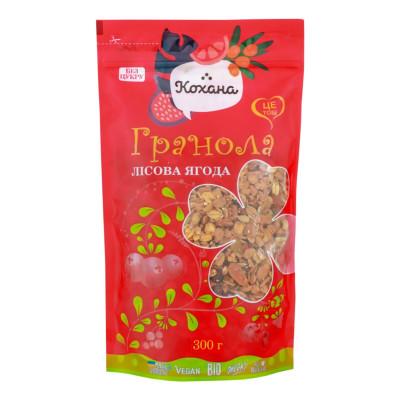 Гранола Кохана Лесная ягода 300 г  ТМ: Кохана