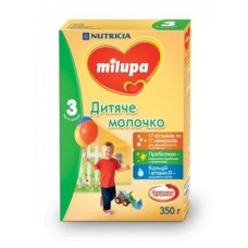 Сухое молочко Milupa 3, 350 г
