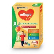 Сухое молочко Milupa 3, 600 г