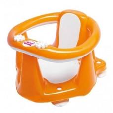 Сидение для ванны OK Baby Flipper Evolution c термодатчиком, оранжевый (37994540)
