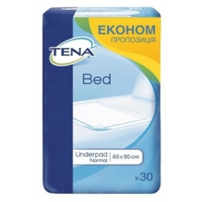 Одноразовые пеленки Tena Bed Normal, 90x60 см, 30 шт.