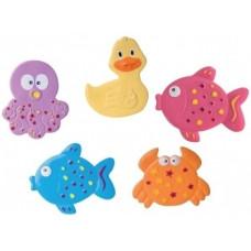 Коврик для купания малыша мини Canpol Babies Цветной Океан (80/003)