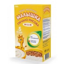 Сухая молочная каша Малышка гречнево-рисовая, 250 г