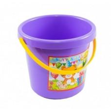 Ведро для песка Tigres Тигренок, фиолетовый (39017)