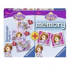 Пазл-Memory 3 в 1 Ravensburger Принцесса София