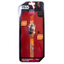 Светодиодные часы TBL Звездные войны, оранжевый