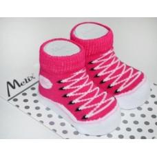 Носки для девочки Melix, 0-6 мес., малиновый (91666)