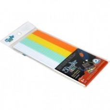 Набор стержней для 3D-ручки 3Doodler Start Микс, 24 шт., белый, мятный, желтый, оранжевый
