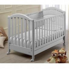 Кроватка детская Baby Italia Euro White, белый