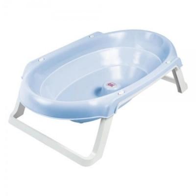 Ванночка OK Baby Onda Slim анатомическая, голубой, 81,2 см (38955540)