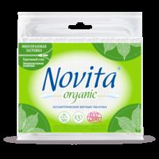 Ватные палочки Novita Organic, 100 шт.