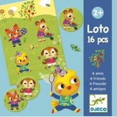 Лото Djeco Четверо друзей (DJ08124)