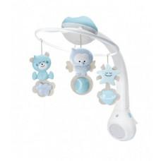 Музыкальный мобиль с проектором Infantino 3 в 1, голубой