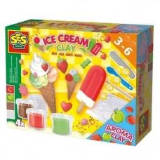 Незасыхающая масса для лепки Ses Creative Мороженое (0444S)